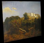 [ORIENTALISME ALGERIE ALGER] [Huile Sur Panneau D'acajou, Signée]. 1843. - Oils
