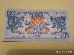 1 Ngultrum 2006 - Bhutan