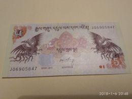 5 Ngultrum  2006 - Bhutan