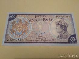 10 Ngultrum  1986 - Bhutan