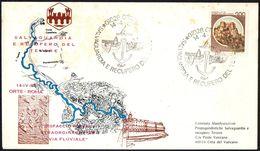 CANOEING - ITALIA ORTE 1984 - SALVAGUARDIA E RECUPERO DEL TEVERE - DISPACCIO STRAORDINARIO VIA FLUVIALE - Canoa