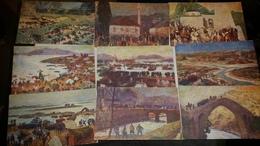 Cartolina Postale Commemorativa Della IV Guerra Per L'indipendenza Ital. Edizione Della Croce Rossa Italiana Lotto 9 PZ - Croce Rossa