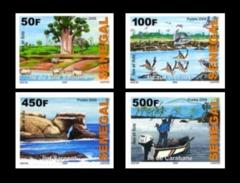 SENEGAL 2009 2011 ISLANDS ILES FAUNA BIRDS BIRD OISEAUX VACHES VACHE COWS COW IMPERFORATE IMPERF ND NON DENTELES MNH ** - Senegal (1960-...)