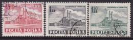 POLAND 1952 Electricity Works Fi 626-28 Used - 1944-.... République