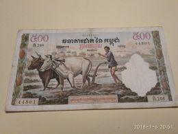 500 Riels 19558-70 - Cambogia