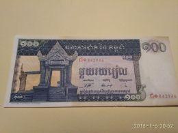 100 Riels 1962-75 - Cambogia