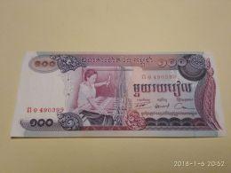 100 Riels 1972 - Cambogia
