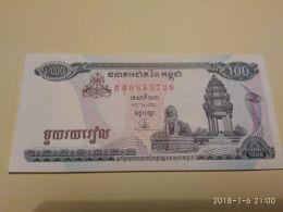 100 Riels 1998 - Cambogia