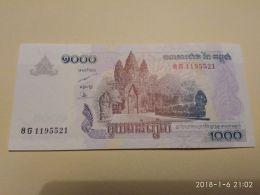 1000 Riels 2007 - Cambogia