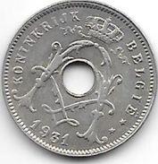 Belguim 5 Centimes 1931  Dutch Vf+ - 03. 5 Centimes