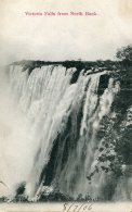 ZIMBABWI - Victoria Falls From North Bank -  British South Africa Company Stams VG Putney SW London PM 1906 - Zimbabwe