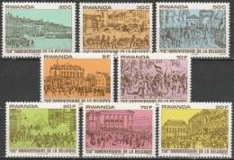 Rwanda 1980, Belgium Independence Anniversary (MNH, **) - Rwanda