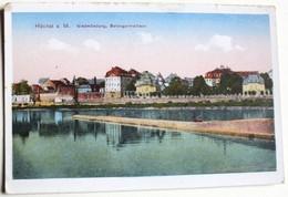 CPA Allemagne Höchst A. Main Niedmündung Bolongaro Rathaus - Frankfurt A. Main
