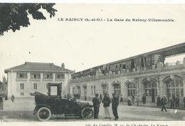 93,Seine Saint-Denis, Le RAINCY, La Gare Du Raincy-Vtllemomble,animations,Scan Recto-Verso - Le Raincy