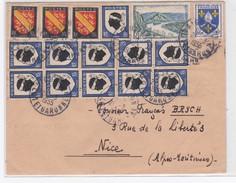 LSC  Du  2/3/1955 - Marcophilie (Lettres)