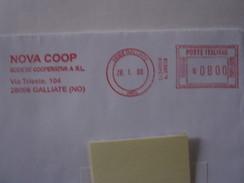 RS6 ITALIA EMA AFFR. MECCANICA ROSSA  - 2000 GALLIATE NOVARA - NOVA COOP VIA TRIESTE COOPERATIVA SUPERMERCATO - Affrancature Meccaniche Rosse (EMA)