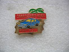 Pin's De La Carrosserie KERN En MARTINIQUE. Garage Automobile - Unclassified
