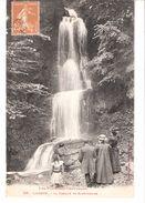 Luchon (Haute Garonne)-+/-1910-La Cascade De Sourrouille-Costumes-manteaux-robes-Chapeaux (Mode) - Luchon