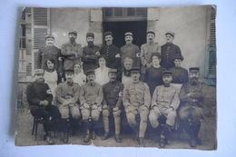 GRANDE PHOTO ORIGINALE CANTAL AURILLAC. 139ème Régiment D Infanterie. 24 X 17cm. - Guerre, Militaire