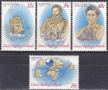 Kokosinseln Cocos Islands 1980 Geschichte Seefahrt Francis Drake Segelschiffe Royals Prince Charles, Mi. 61-4 ** - Kokosinseln (Keeling Islands)
