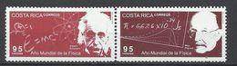 Costa Rica. 2005. Año Mundial De La Física. - Physics