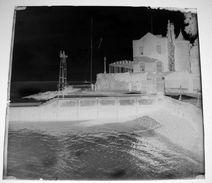 Falmouth Cornouailles ( à Confirmer ) 10 Plaque De Verre 6X6cm Env - Négatif De Photos Anciennes Bien Lire Descriptif - Glass Slides