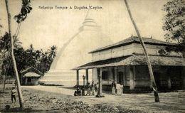 ASIE Asia - SRI LANKA ( Ceylon Ex CEYLAN ) Ceylon Kelaniya Temple & Dagoba - Sri Lanka (Ceilán)
