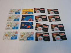 DENMARK - 16 Different Danmont Chipphonecards - Denmark