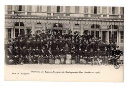 BOULOGNE SUR MER - Harmonie Des Sapeurs-Pompiers (fondée En 1905) - Boulogne Sur Mer