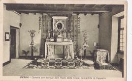 OVADA - CAMERA OVE NACQUE SAN PAOLO DELLA CROCE   VG   AUTENTICA 100% - Alessandria
