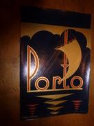 1920 ? Spécimen étiquette De Vin PORTO , N° 94H ,  Déposé,  Imp. G.Jouneau  3 Rue Papin à Paris - Bateaux à Voile & Voiliers