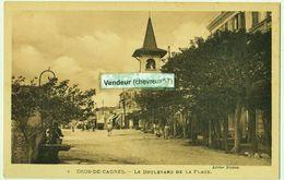 7  CROS-DE-CAGNES. - LE BOULEVARD DE LA PLAGE - France