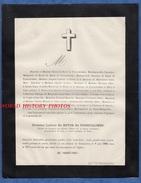 Document Ancien De 1888 - Château De TREMOURIEZ - Ludovic De BOYER De FONSCOLOMBE - Colonel De Cavalerie - Documents