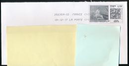 """Timbre Internet """"Mon Timbre En Ligne"""", Lettre Verte (19-12-2017) Edouard Manet, Peintre, Tableau, Barque - Personalized Stamps (MonTimbraMoi)"""