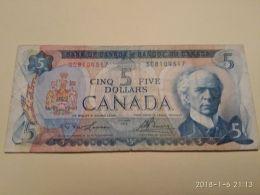 5 Dollars 1972 - Canada