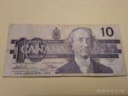 10 Dollars 1989 - Canada
