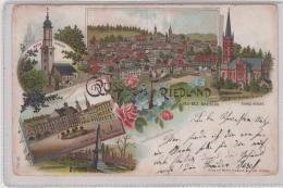 AK - LITHO - Gruss Aus FRIEDLAND (Bez. Breslau) 1899 - Polen