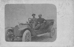 "07121 ""LIBIA - TRIPOLI 1912"" ANIMATA, AUTO. FOTOGRAFIA ORIGINALE. - Africa"