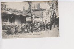 Cpa , Salles Station Cycliste , Pommeyrau Phot Facture Gironde , Voyagé - Autres Communes