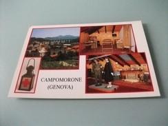 CAMPOMORONE GENOVA VEDUTE MUSEO CROCE ROSSA ITALIANA - Croce Rossa