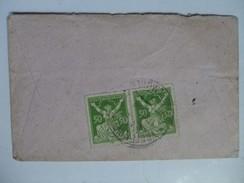 CZECHOSLOVAKIA - 1923 Brief -  Vretendvy Mlyn Spindelmuhle Vertrekstempel - 2 Scans - Cecoslovacchia