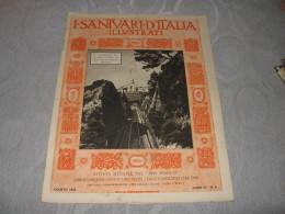 I SANTUARI D'ITALIA ILLUSTRATI N.8         Pro Familia 1931   IL SANTUARIO DEL SACRO CUORE DI GESU' IN BUSSANA  SANREMO - Religion