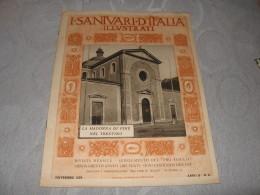 I SANTUARI D'ITALIA ILLUSTRATI N.11    Pro Familia 1929  LA MADONNA DI PINE' NEL TRENTINO - Religion