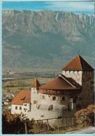 Furstentum Liechtenstein - Schlob Vaduz Mit Kreuzbergen 2126mt. - Liechtenstein