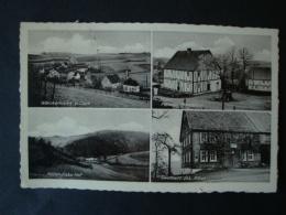 Griesemert Bei Olpe, Gasthaus Jos. Albus, Möllendieks Hof, Pension Mondabon, Waukemicke, Gelaufen 1941 - Olpe
