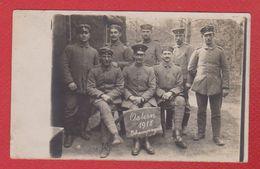 Champagne  -  Carte Photo --  Soldats Allemands  -  Pâques 1918 - Weltkrieg 1914-18