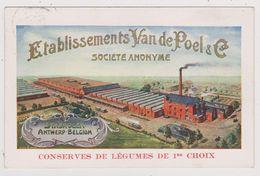 Etablissements Van De Poel & Co Stabroeck  Conserves De Légumes 1914 - Stabroek