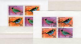 WWF Singvögel 1977 Surinam Block 18 **/o 11€ Vogelwelt Naschvogel Vogel Tangare Hoja Blocs Fauna M/s Sheet Bf Birds - W.W.F.