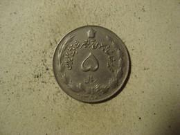 MONNAIE IRAN 5 RIALS 1350 - Iran