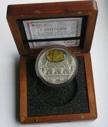 Niue 5 Dollars 2016 Baroque Amber Art 2 Oz Silver Coin - Coins